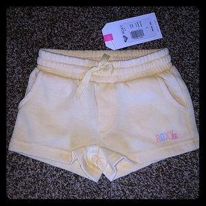 Toddler Roxy fleece shorts
